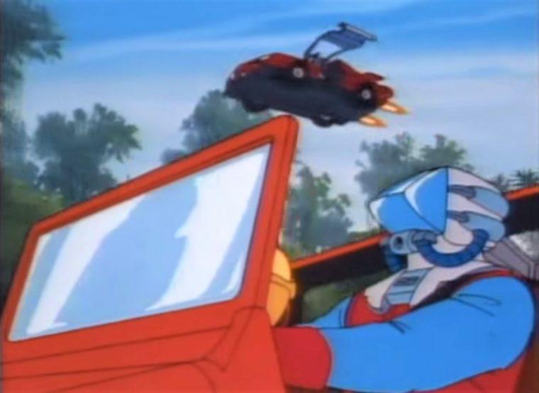 Cartoon Car Spotlight M A S K Had Cooler Vehicles Than The