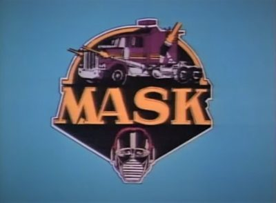 M.A.S.K. animated television show cartoon cars military DIC Kenner toys transforming vehicles title