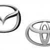 Mazda & Toyota Logos