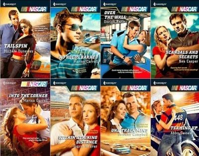 NASCAR Romance novels Harlequin stock car racing driver story sexy