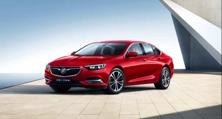 New Buick Regal Sedan China