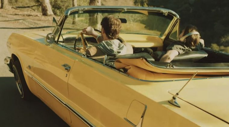 The Chainsmokers Don't Let Me Down 1963 Yellow Chevrolet Impala Convertible