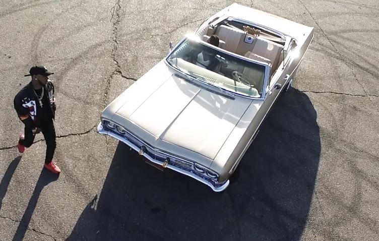 Tory Lanez Luv 1966 White Chevrolet Impala Convertible
