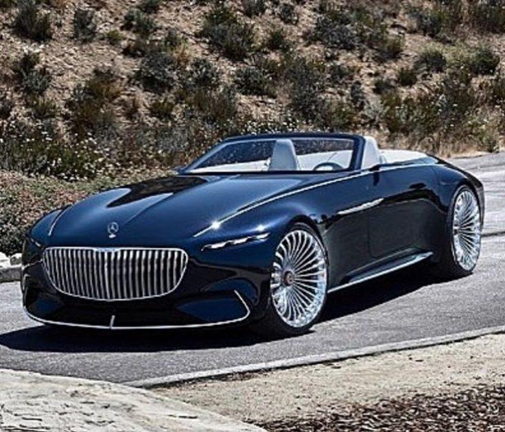 Vision Mercedes-Maybach 6 Cabriolet John Cena Instagram cars