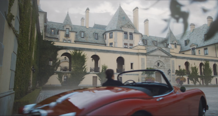 Taylor Swift Blank Space 1957 Jaguar XK 150