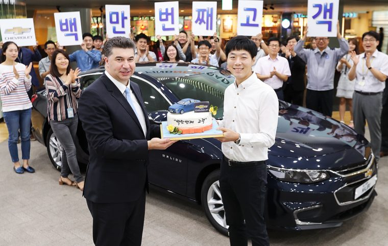 1 Millionth Chevrolet Celebration Korea