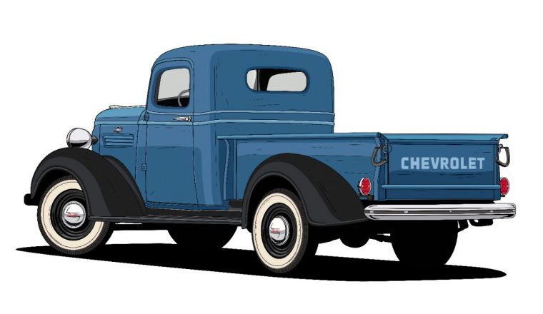 1938 Half Ton