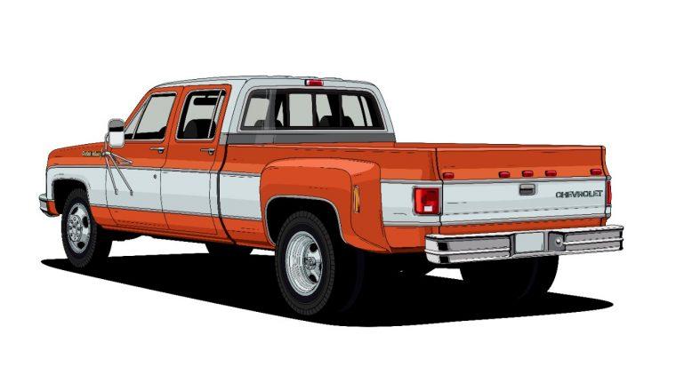 1973 C30 One-Ton Dually