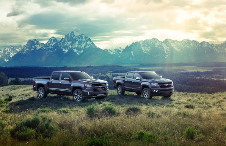 2018 Chevrolet Centennial Edition Silverado and Colorado