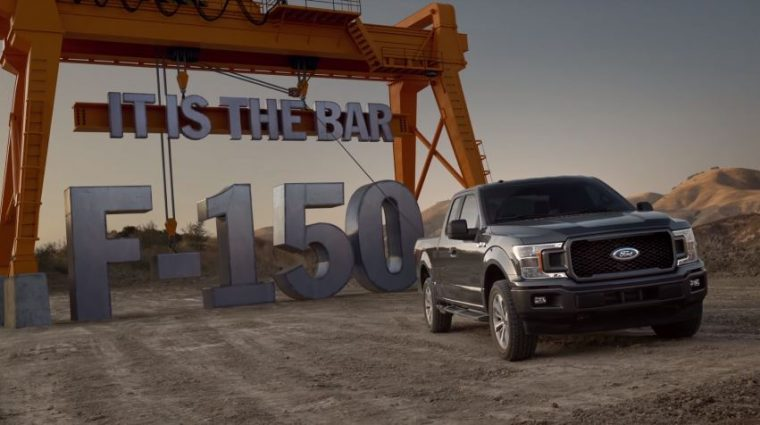 2018 Ford F-150 It Is The Bar