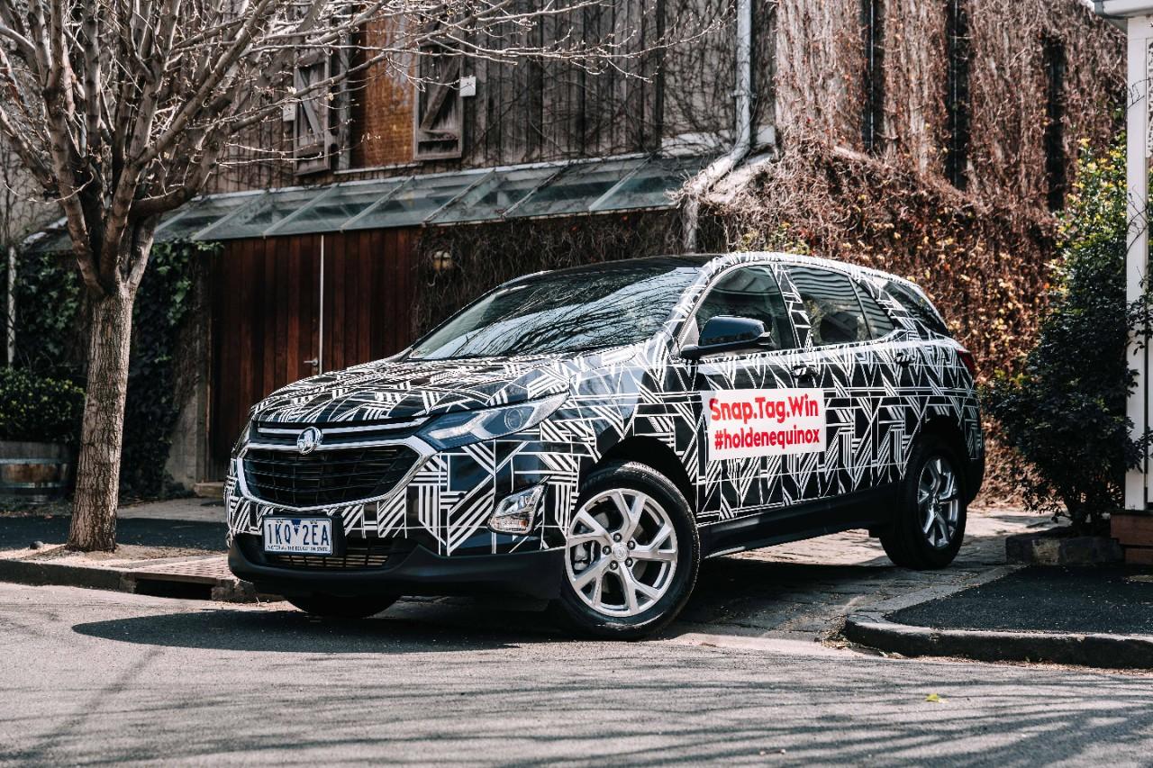 Holden Equinox Art Car Puts Stylish Twist on Vehicle ...