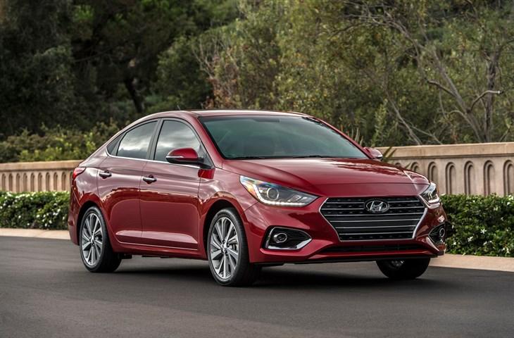 2018 Hyundai Accent details redesign subcompact car model exterior