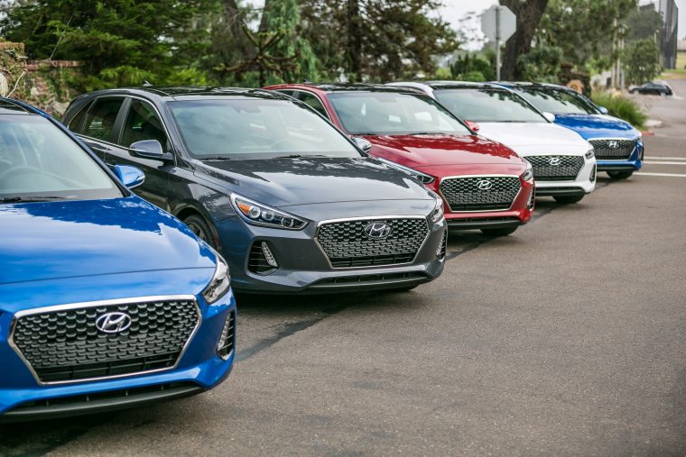 2018 Hyundai Elantra GT Overview model specs details lineup colors