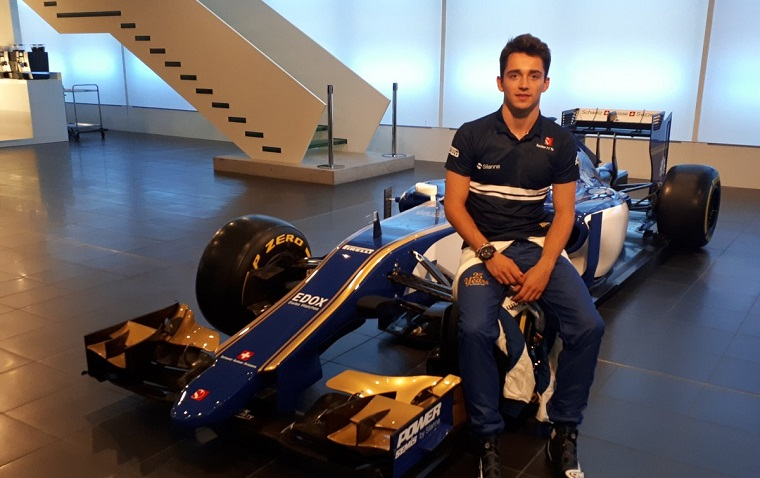 Sauber Confirms Charles Leclerc Will Participate in Four ...