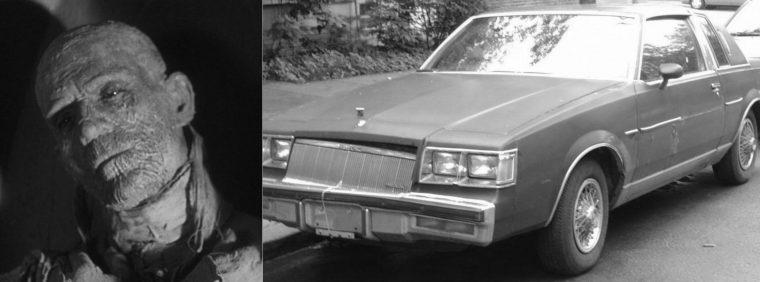 Classic monster movie character vehicle car Mummy Halloween film