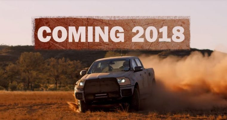 Ford Ranger Raptor Coming 2018
