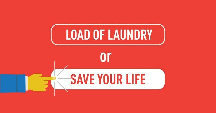 Load of Laundry vs Saving Your Life