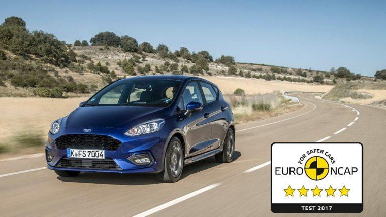 New Ford Fiesta Euro NCAP