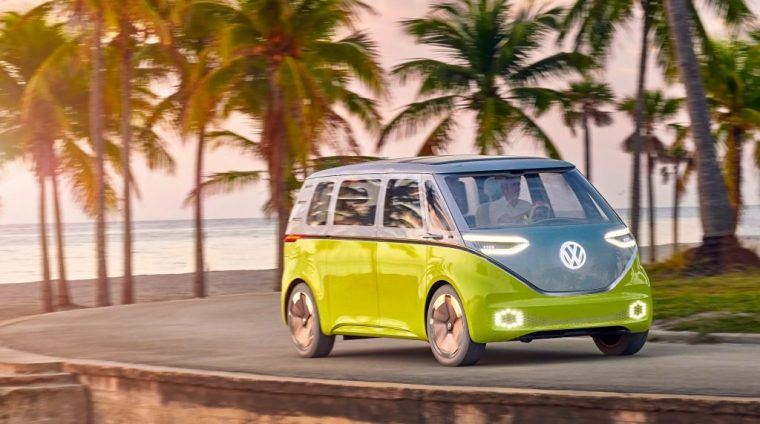Start Saving Up Now Electric Vw Bus To Roll Into Us Market In 2022