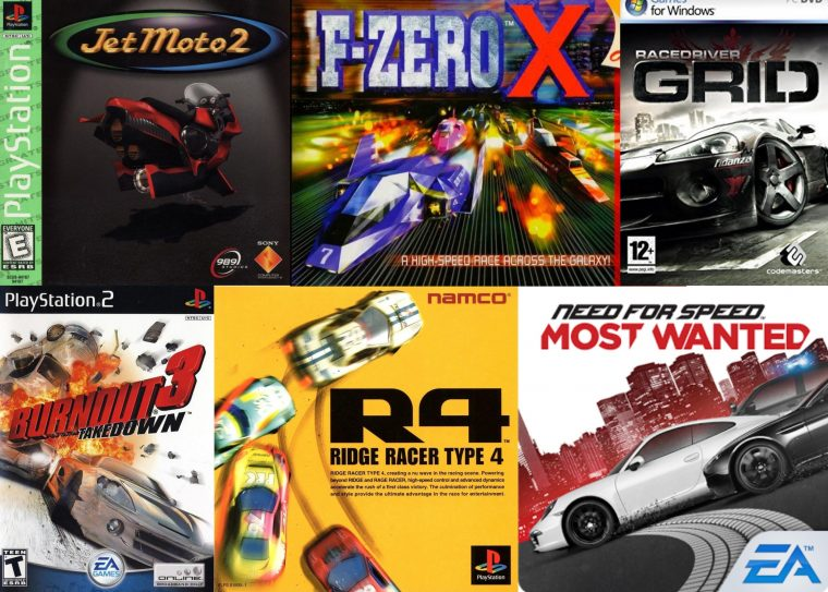best racing video game soundtracks music list rank