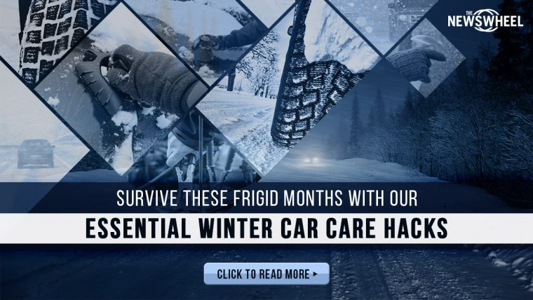 winter car care banner tips hub