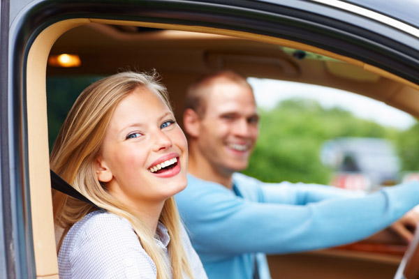 young couple in love romance most romantic cars list