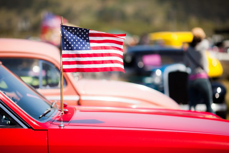 American Car Flag