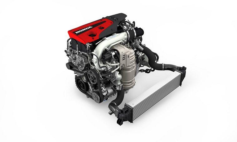 2017 Honda Civic Type R Engine with Intercooler