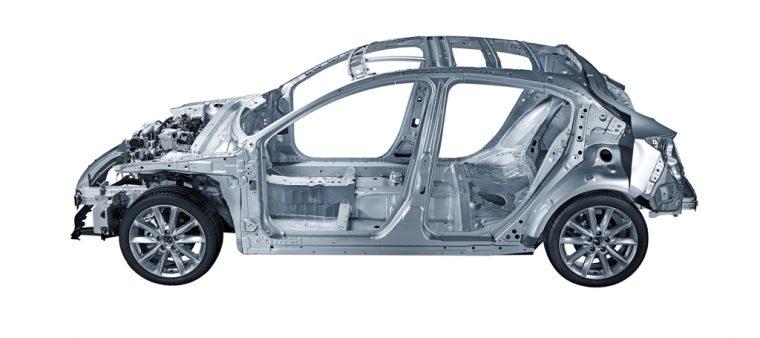 2017 Mazda SKYACTIV Vehicle Architecture