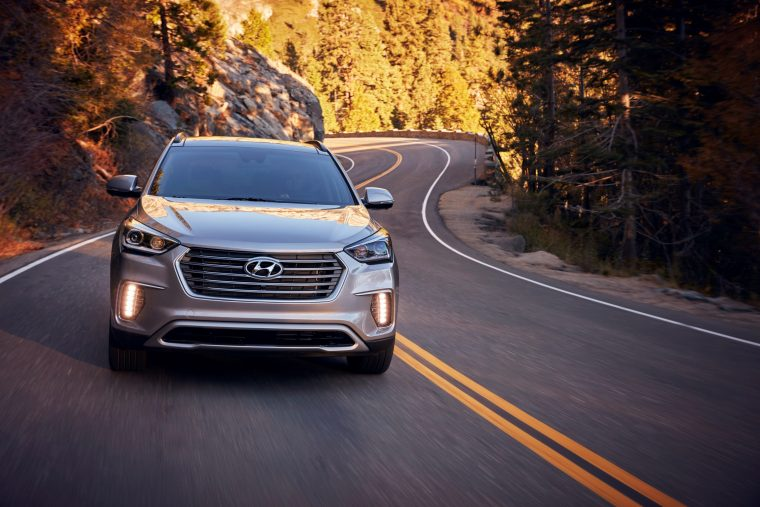 2018 Hyundai Santa Fe overview crossover SUV details performance