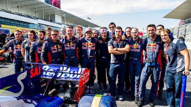 Carlos Sainz Jr & Toro Rosso
