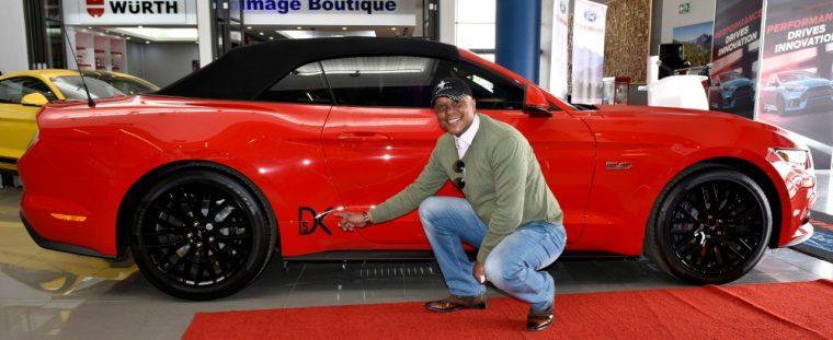 Doc Khumalo Ford Mustang
