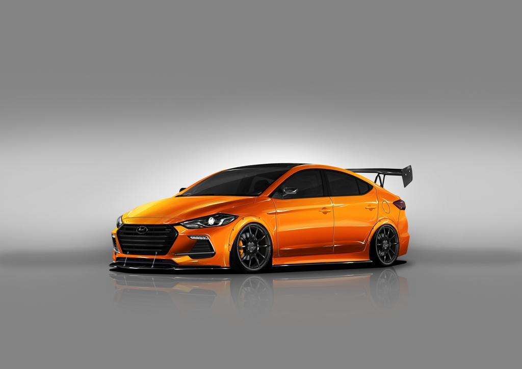 2017 Hyundai Accent Sedan >> Hyundai SEMA News: BTR Edition Elantra Sport Not to Be Missed - The News Wheel