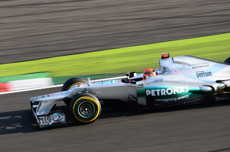 Michael Schumacher @ 2012 Japanese Grand Prix