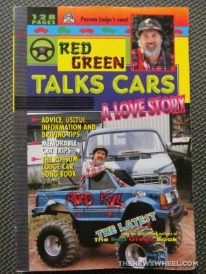 Red Green Talks Cars A Love Story book review Steve Smith TV show cover