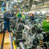 Toyota Hybrid Engine Assembly Line