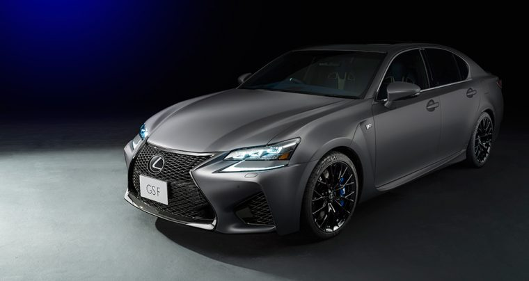 Lexus GS F limited edition tokyo motor show 2017