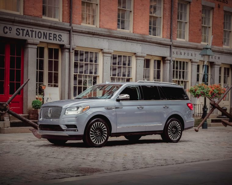 2018 Lincoln Navigator Seaport District NYC