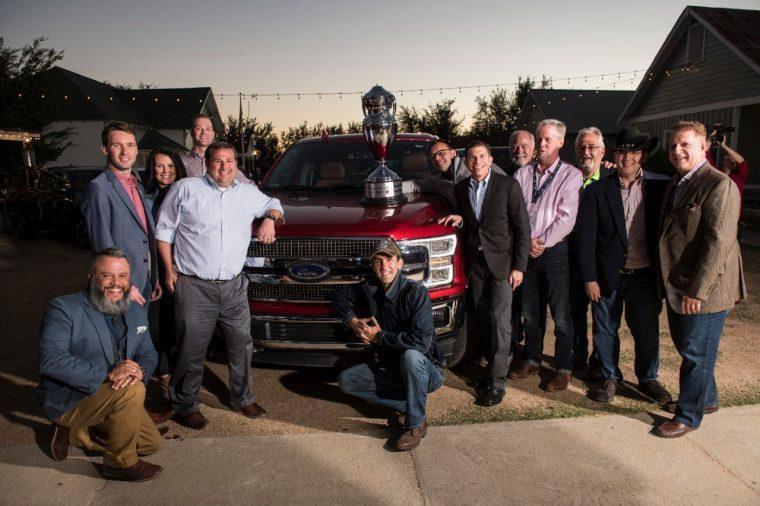 2018 Ford F-150 TAWA Texas Truck Rodeo Truck of Texas Trophy