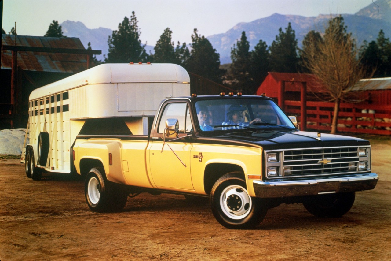 Silverado chevy 1987 silverado : 1987 Chevrolet C30 Silverado one-ton pickup with 454-cubic-inch ...