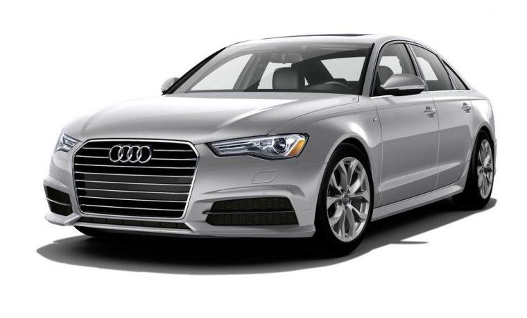2018 Audi A6 grey body color paint