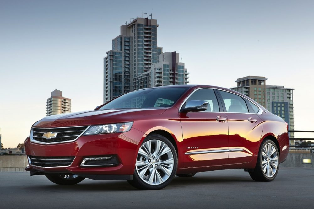 Chevrolet Impala ranks on iSeeCars' list of the longest-lasting cars