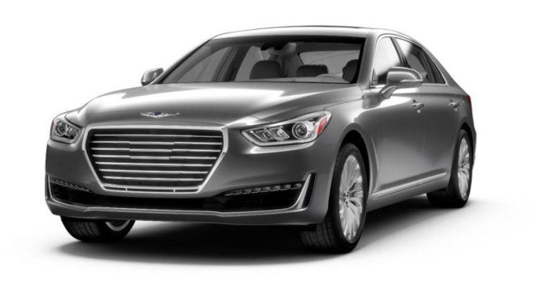 2018 Genesis G90 gray body color option