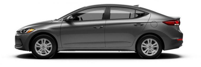 2018 Hyundai Elantra gray body color option