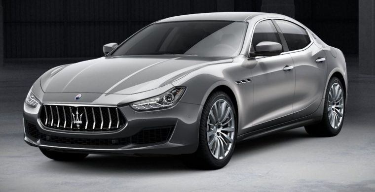 2018 Maserati Ghibli Grey body color