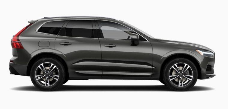2018 Volvo XC60 grey body color