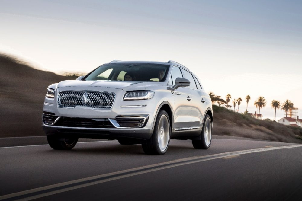 The Lincoln Nautilus won the Vincentric best value award for best luxury midsize SUV/crossovers