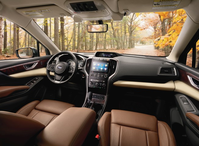 2019 Subaru Ascent Touring interior