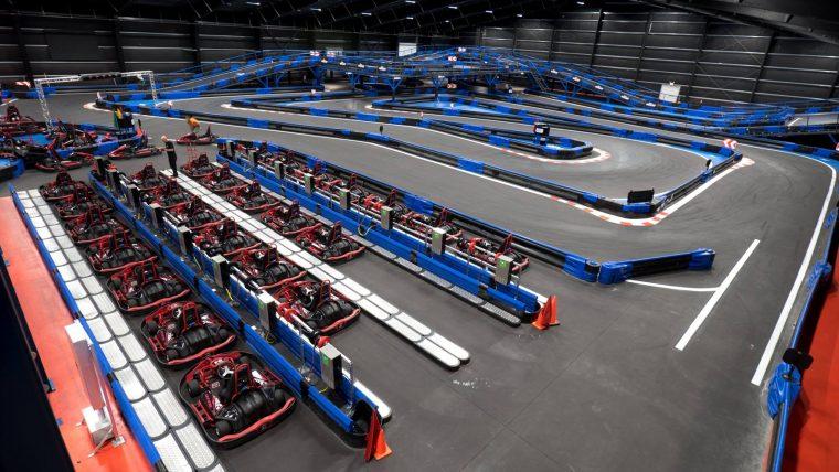 Naskart Indoor Karting Trampoline Par