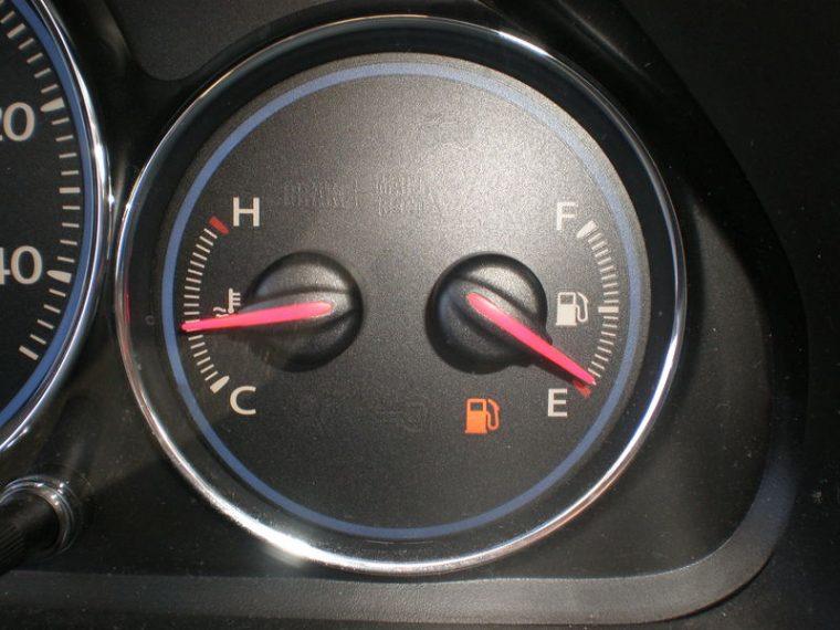Low Fuel Light